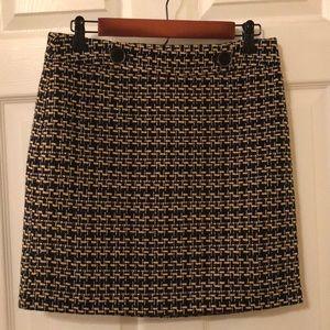 Loft Houndstooth Skirt - Sz 2